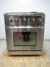 Dacor Renaissance 30  4 Sealed Burners Pro Style Stainless Gas Range ER30GSCHNG