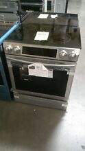 NEW Samsung Stainless Steel 5 8 Cubic Foot Slide In Electric Range FREE SHIPPING