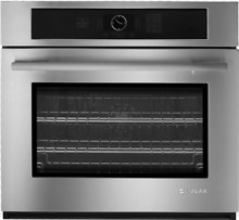 Jenn Air JJW2430WS 30  Single Wall Oven with MultiMode Convection Stainless