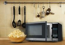 700 Watt Counter Top Microwave Oven Black Digital Stainless Steel For Kitchen