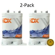 2 Pack HDX FMF 7 Refrigerator Replacement Filter Fits Frigidaire Pure Source 2