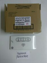 GE REFRIGERATOR WHITE DISPENSER CONTROL BOARD WR55X10316 NEW PART FREE SHIPPING