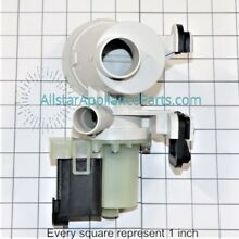 Replacement For Whirlpool W10130913 Washer Drain Pump Motor Assembly