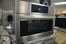 Bosch 27  Stainless Steel Single Electric Convection Speed Oven HMC87152UC