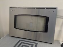 GE Range Stove Oven Stainless Steel Door Assembly WB56T10122