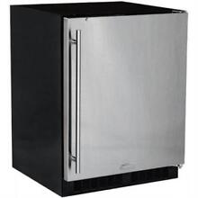 Marvel 24  4 6 Cu  Ft 190 12 Oz  CPY Stainless Steel Beverage Center MA24RAS1RS