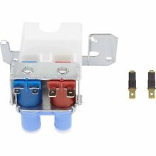 Genuine GE Replacement Part Ice Maker Double Solenoid Water Valve Blue