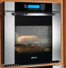 Dacor 30  Pure Convection RapidHeat Single Electric Oven Stainless MOV130S