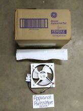 GE OEM REFRIGERATOR EVAPORATOR FAN MOTOR AND FELT ASM WR60X10352 FREE SHIP NEW