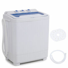 Compact Electric Washing Machine with Spin Dryer van camping tiny house camper