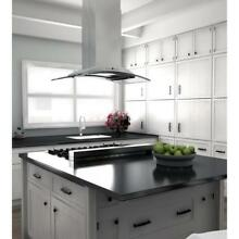 ZLINE 36  ISLAND KITCHEN RANGE HOOD Stainless Steel Glass LED FREE SHIP GL9i 36