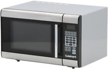 Microwave Countertop 1 000 Watts 1 Touch Controls 1 0 cu  ft  Stainless Steel