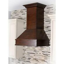 ZLINE 36  DESIGNER SOLID WOOD WALL RANGE HOOD CROWN MOLDING 329WH 36