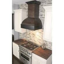 ZLINE 36  DESIGNER SOLID WOOD WALL RANGE HOOD CROWN MOLDING 369AW 36