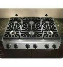 Dacor Discovery 36  6 Sealed Burners Stainless Natural Gas Rangetop EG366SCHNG