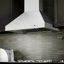 ZLINE 48  NEW PROFESSIONAL STAINLESS STEEL 1200 CFM WALL RANGE HOOD 697 48