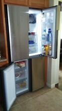 Haier 4 door stainless steel refrigerator bottom freezeer with organized drawer