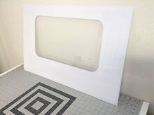 GE Range Oven Outer Door Glass WB57K5 WB57K10099