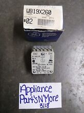 GE RANGE OVEN TIMER PART NUMBER WB19X260 70307732 FREE SHIPPING NEW PART