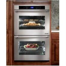 DACOR Distinctive 30  4 8 cu  ft 6 Modes Double Electric Wall Oven DTO230S