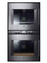 Gaggenau BX281 611 30  200 Series Left Hinged Double Convection Oven Stainless