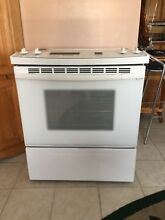 KITCHEN AID SUPERBA SLIDE IN   COOKTOP CONVECTION OVEN   30 INCHES WIDE   WHITE