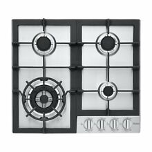 Haier HCC2230AGS 24  Gas Cooktop with 4 Sealed Burners  New Sealed