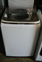 27  Samsung White ActiveWash 12 Cycle Top Loading Washer WA54M8750AW