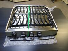 Dometic Stainless Steel LP Propane Gas 3 Burner Slide In CookTop Stove CA 35SPSA