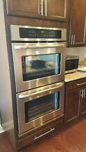 Frigidaire 30  Self Clean Double Electric Stainless Steel Wall Oven FFET3025PS