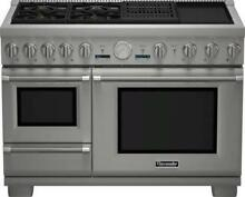 THERMADOR Pro Grand Steam Professional 48  Pro Style Dual Fuel Range PRD48NCSGU