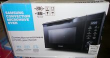 New Samsung MC11K7035CG Convection Microwave Oven Sensor Cooking Grilling Black