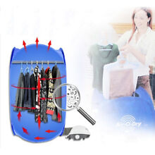220V Mini Portable Electric Clothes Dryer Folding Bag for Home Travel Camping