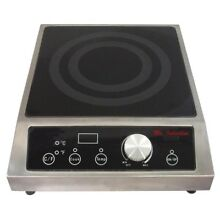 2700W Commercial Induction Countertop SR652C Induction Smart Scan 2 Power Levels