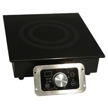 Su1800W BuiltIn Commercial Induction Range SR184R Electric Cooktop 2 Power
