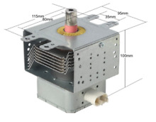 REPLACEMENT PANASONIC MAGNETRON FOR 2M240J   Y  2M247JB AM723 NE1037