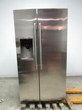 Electrolux Wave Touch 36 Inch Counter Depth Side by Side Refrigerator EW23CS75QS