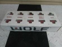 36  Wolf Dual Fuel Range  DF36  Red Knobs  804369