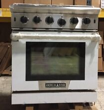 American Range Cuisine Series Free Standing 30  Pro Style Gas Range Stainless St
