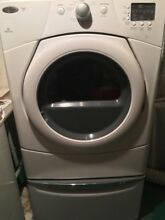 Whirlpool electric washer and dryer