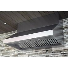 Zephyr Stainless Steel Outdoor Wall Mounted Range AK7854BS 1200 CFM 54 Inch Wide