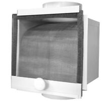 New Metal Lint Trap 4 in Removable Filter Grow Room Ventilation Accessory Parts