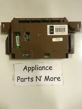FISHER AND PAYKEL DRYER CONTROL BOARD PN  395628P 395628 FREE SHIPPING NEW PART