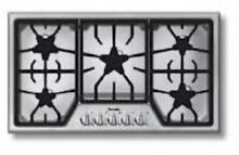 Thermador MasterPiece Series 36  5 Star Burners SS Natural Gas Cooktop SGS365FS
