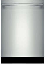 Bosch SHX68T55UC 800 Series 24 Inch Dishwasher in Stainless Steel