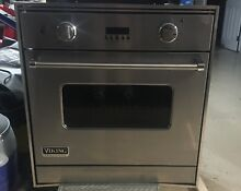 Viking 30  Single Gas Wall Oven  Stainless Steel Natural Gas   VGSO100SS
