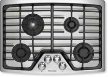 Electrolux 30  4 Sealed Burner Flex 2 Fit Stainless Steel Gas Cooktop EW30GC55GS