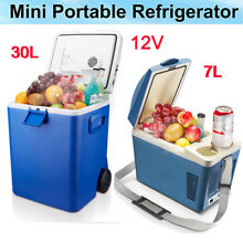 12V Portable Car Mini Fridge Cooler Warmer Boat Travel Refrigerator Freezer 7 30