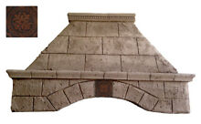 Stone Range Hood   Any Size  Any Color   TUSCANY   Easy Install  Free Samples