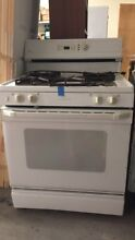 General Electric  GE   XL44  White Stove Oven